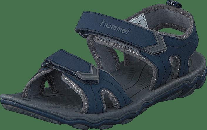 987e5f7f9baa Køb Hummel Sandal Sport JR Total Eclipse blå Sko Online