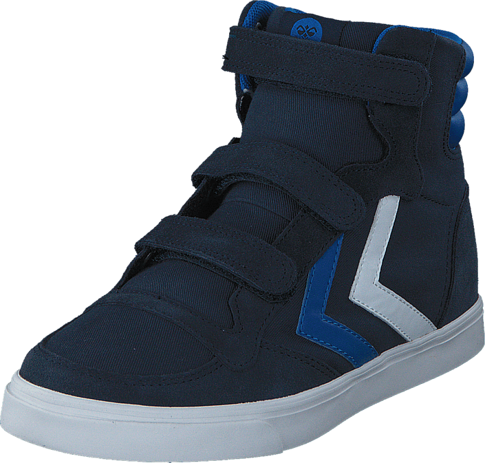 Hummel - Stadil Canvas High JR Total Eclipse