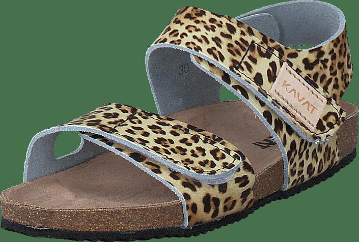 Kavat Bomhus XC Leopard beige Skor Online