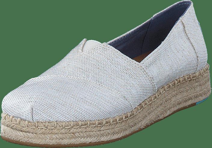 329a57ed667 Buy Toms Platform Alpergata Natural Yarn Dye grey Shoes Online ...