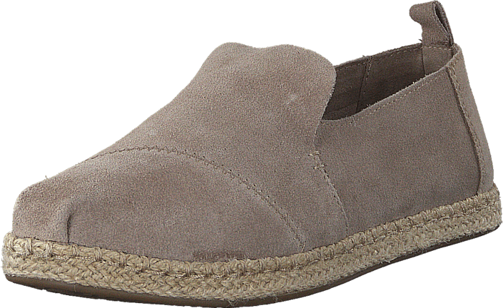 Decontructed Alpergata Taupe Suede