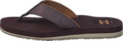 Carlio Flip-Flop Chocolate Brown
