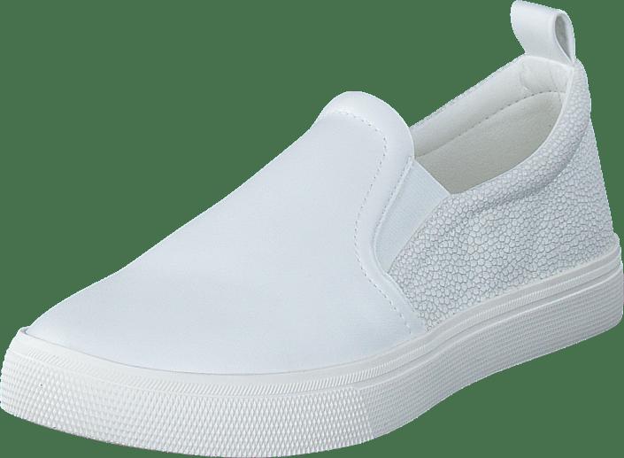new style 214a0 5c48c Semmy Slip On 100 White