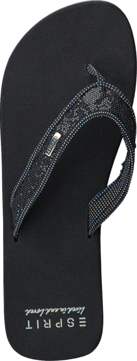 Esprit - Glitter Thongs 037EK1W005 001 Black