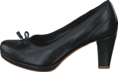 new styles ffb26 d2b3c Clarks - Chorus Bombay Black Leather