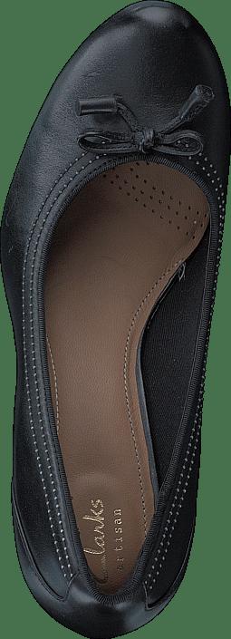 Clarks - Chorus Bombay Black Leather