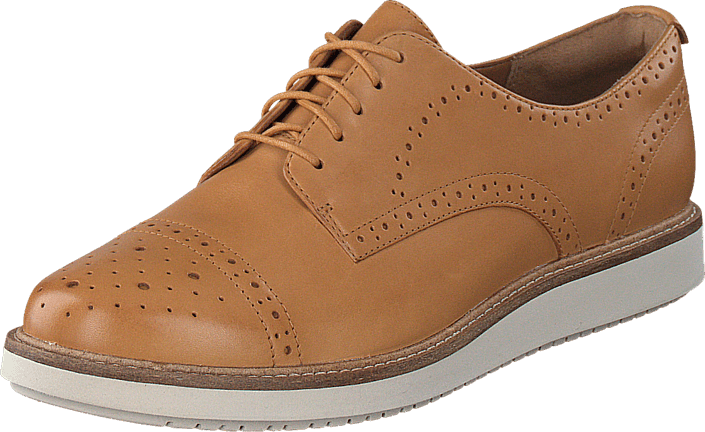 Clarks - Glick Shine Light Tan Lea
