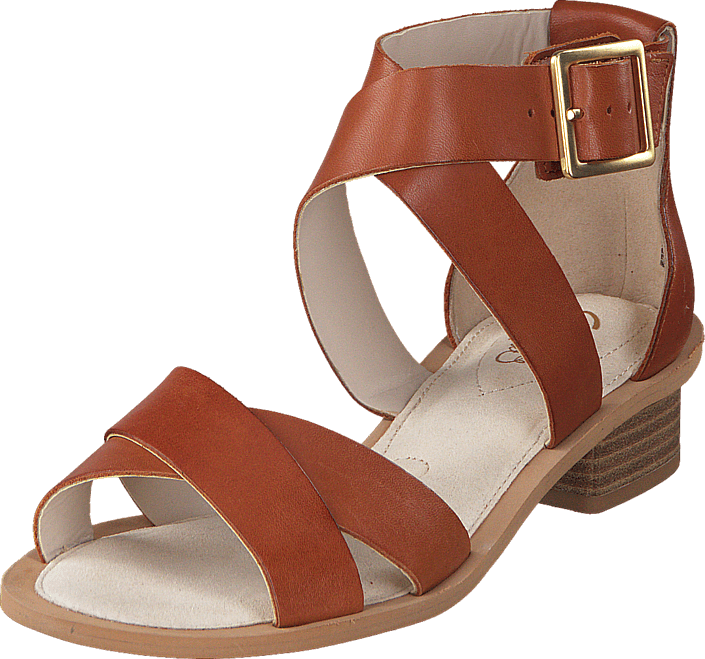 b2f2584f2 Buy Clarks Sandcastle Ray Tan Leather red Shoes Online