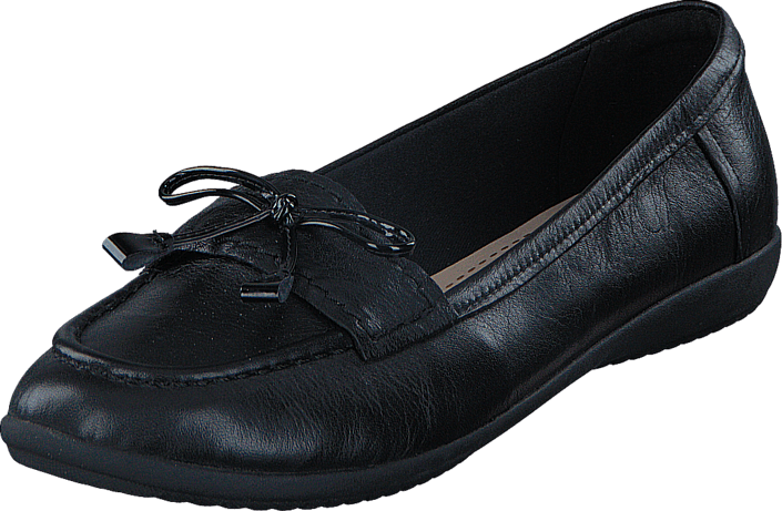 Clarks - Feya Bloom Black Leather