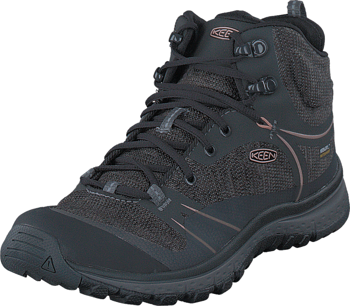 6bbf9b5a0144 Buy Keen Terradora Mid Wp Raven Rose Dawn grey Shoes Online ...