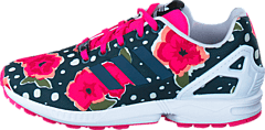 0896f271119 adidas Originals - Zx Flux J Shock Pink/ Ftwr White