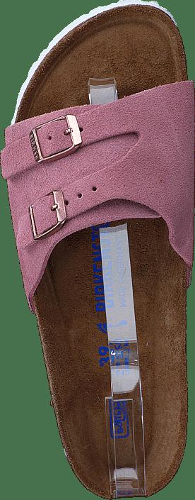 Birkenstock - Vaduz Slim Suede Rose