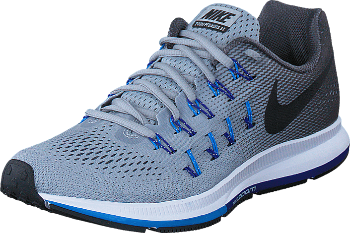 detailed look 732ad c9f09 Nike - Air Zoom Pegasus 33 Wolf Grey Black-Dark Grey-Blue