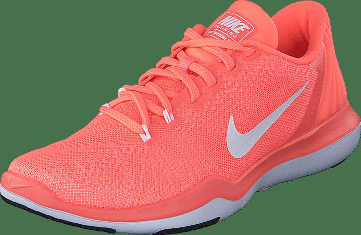 Wmns Nike Flex Supreme Tr 5 Lava Glow/White-University Red