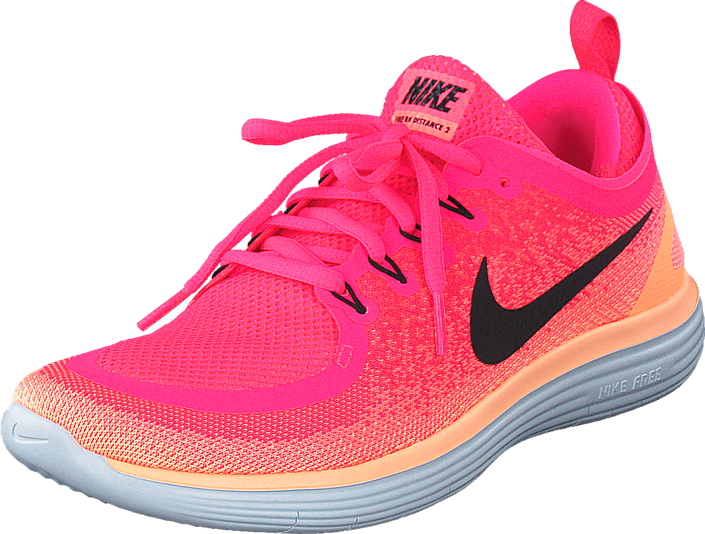 59ea03f02f Buy Nike Wmns Nike Free Rn Distance 2 Racer Pink/Black-Lava Glow red ...