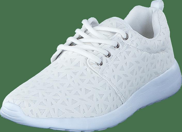 Donna Girl Sneakers White 491305 07 Hvite Kjøp Sko Online FqRw7dq