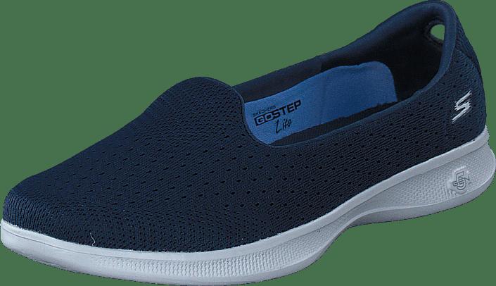 Blå Sko Kjøp 14468 Go Skechers Online Flats Lite Step Nvgy rWw4nWSxA