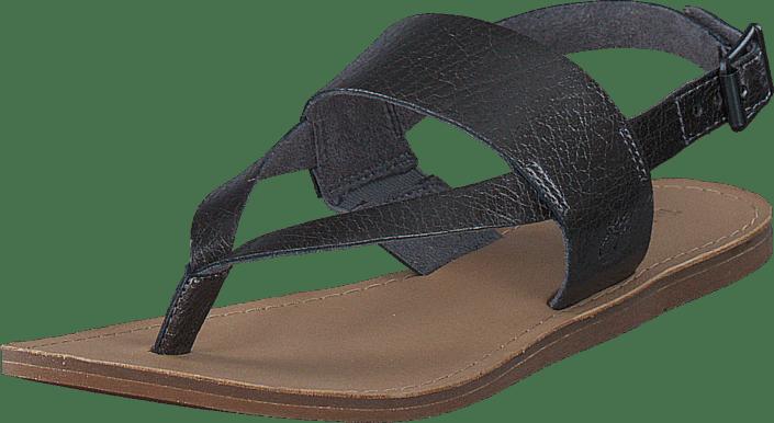 Carolista Ankle Thong Gunmetal Metallic