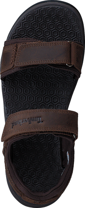 Harbor Pines Leather Sand Dark Brown Connection