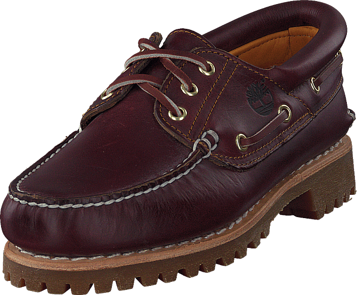 3c3ead1d40 Buy Timberland Authentics 3 Eye Classic Burgundy Pull Up purple ...