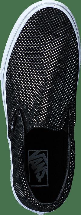 UA Classic Slip-On silver/black
