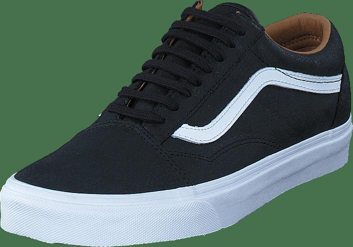 Kjøp Vans UA Old Skool blacktrue white sorte Sko Online