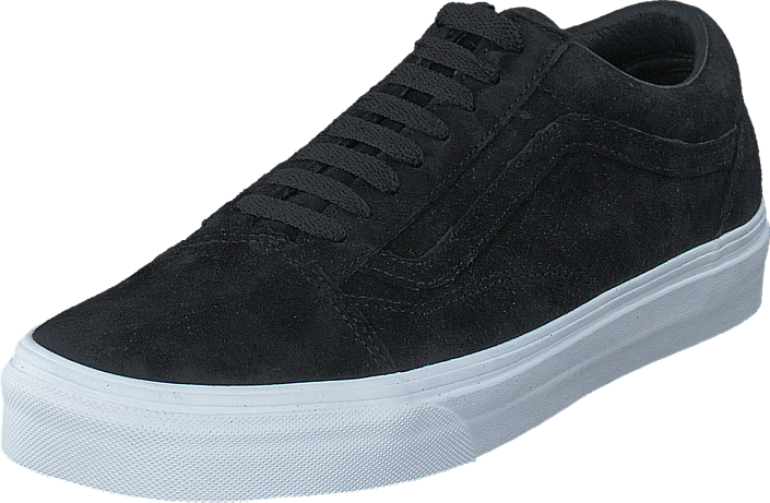 Buy Vans UA Old Skool Suede Black Blanc de Blanc black Shoes Online ... b500ea9845