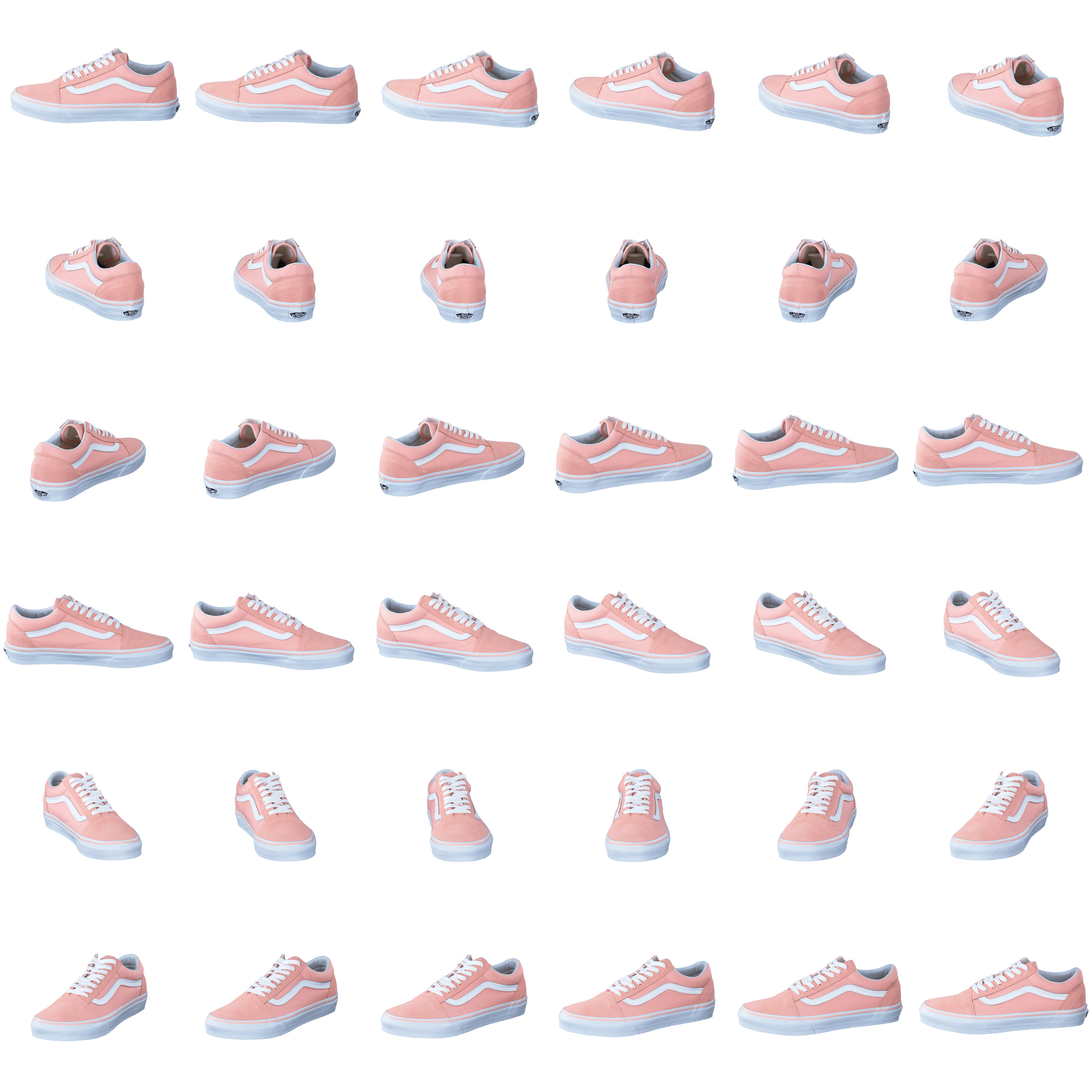 190c0134bf Buy Vans UA Old Skool Suede Canvas Peach White white Shoes Online ...