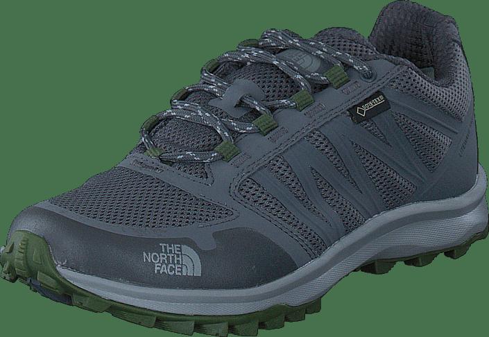 The North Face - Men's Litewave Fastpack GTX Zinc Grey/ Scallion Green