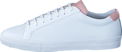 Chop Womens Leather White/Pink