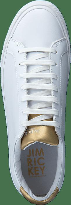 Jim Rickey Chop Femme Leather White/Gold 215487793