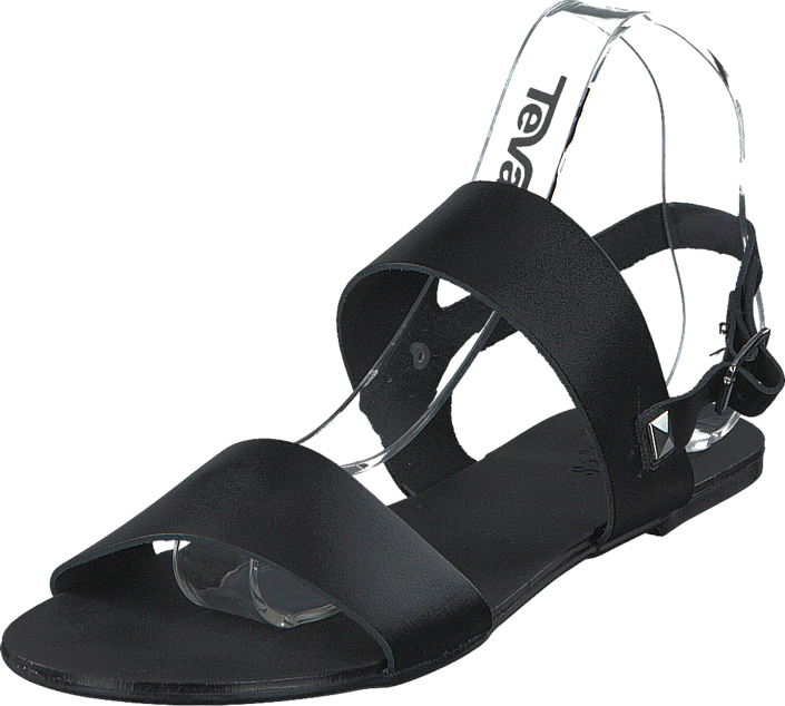 Pieces - Pslindsay Leather Sandal Black