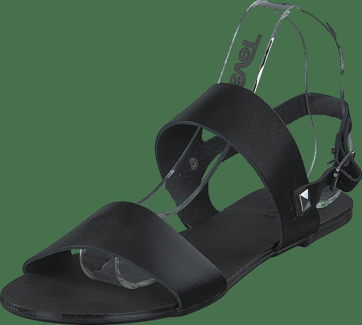 Pslindsay Leather Sandal Black