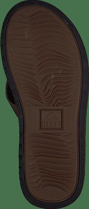 Voyange Leather Dark Brown