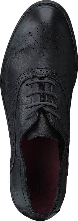 Buy Fly London Eile Washed Leather Black Shoes Online