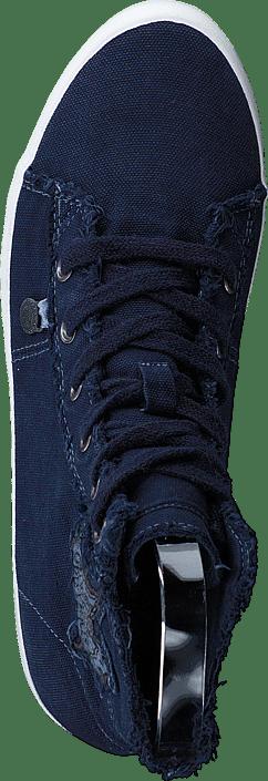 Butterfly High Sneakers Dark Blue