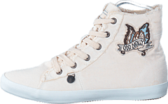 Butterfly High Sneakers Shell