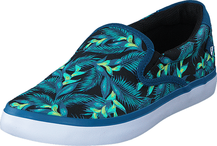 Shorebreak Slip-On Blue/Green/White