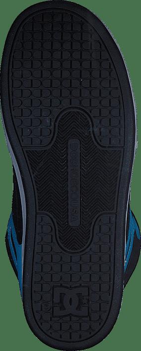 Köp DC Shoes Rebound SE Glow in the dark Black Blue turkosa Skor ... 5086ff0925f5f