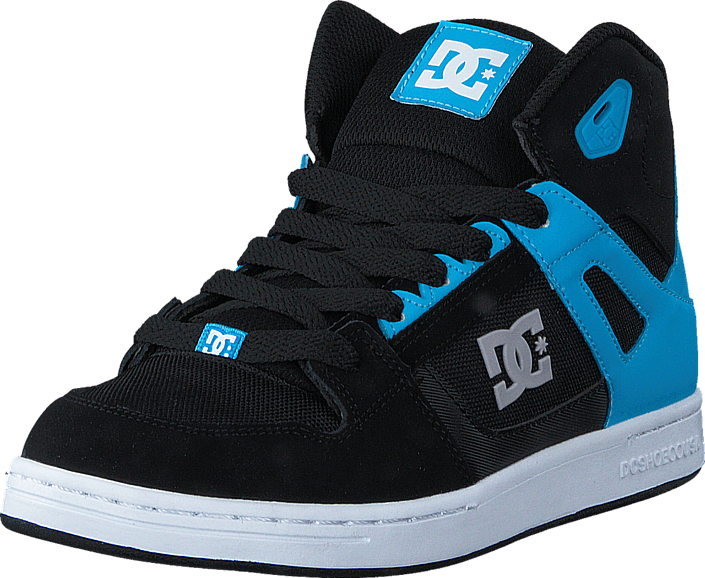 uk availability b34d5 adc18 Köp DC Shoes Rebound SEGlow in the dark BlackBlue turkosa Skor Online   FOOTWAY.se