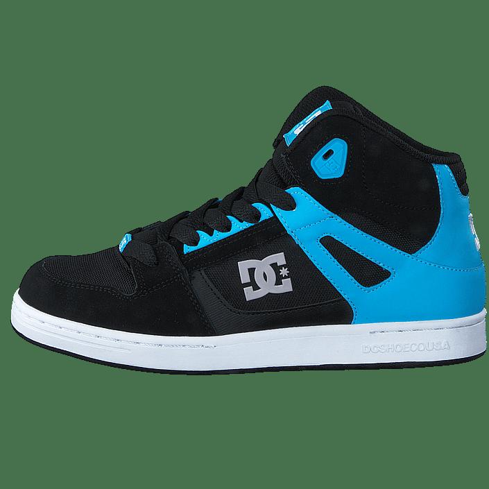Köp DC Shoes Rebound SE Glow in the dark Black Blue turkosa Skor Online  5a106f7b5948f