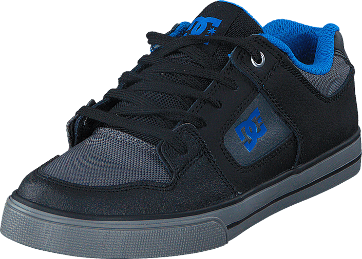 DC Shoes - Pure SE Black/Grey/Blue