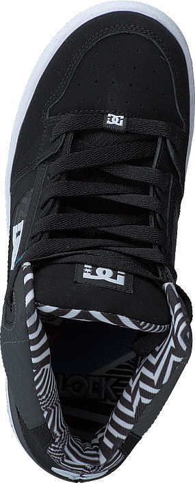 DC Shoes - Rebound KB B Shoe Black/White/Blue