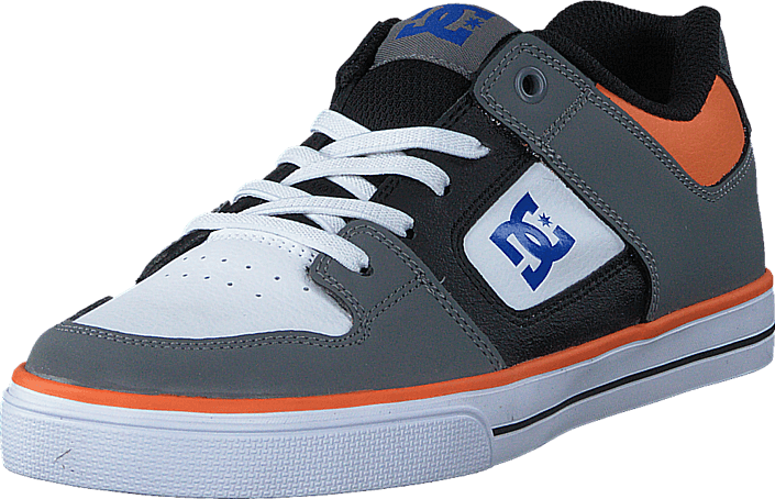 DC Shoes - Dc Kids Pure Elastic B Shoe Grey/Blue/White