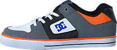 Dc Kids Pure Elastic B Shoe Grey/Blue/White