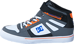 Dc Kids Spartan High Ev B Shoe Grey/Blue/White