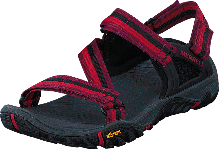 Merrell All Out Blaze Web Beet röd blåa Skor Online