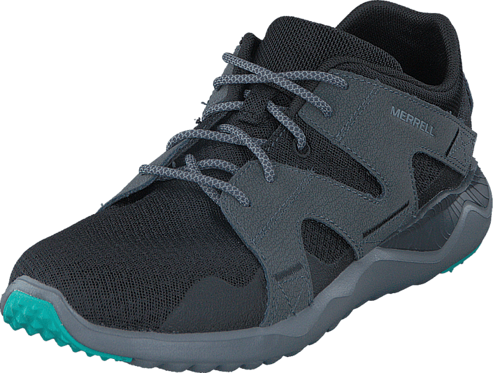Sneakers 1six8 Sko Online Grå Mesh Merrell Black Kjøp Lace 6TxqFnwg