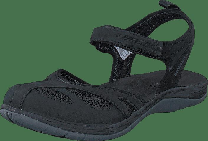 Merrell Siren Wrap Q2 svart svarta Skor Online