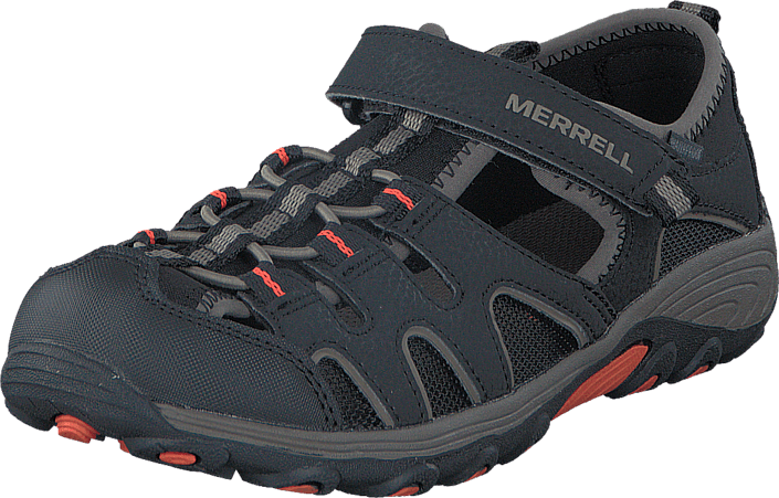 Osta Merrell Boys Hydro H2O Hiker Sandal Black Gunsmoke Orange ... a75e437651